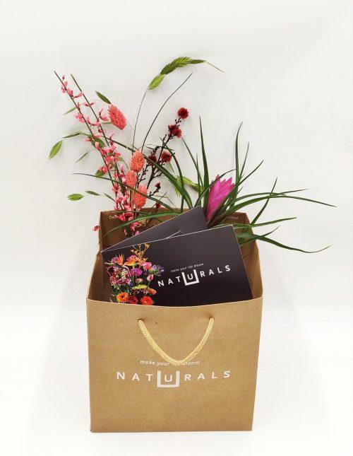 cadeaukaart bloemen